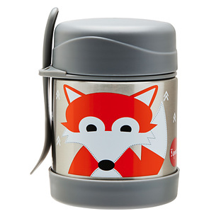 3 Sprouts Fox Insulated Food Jar