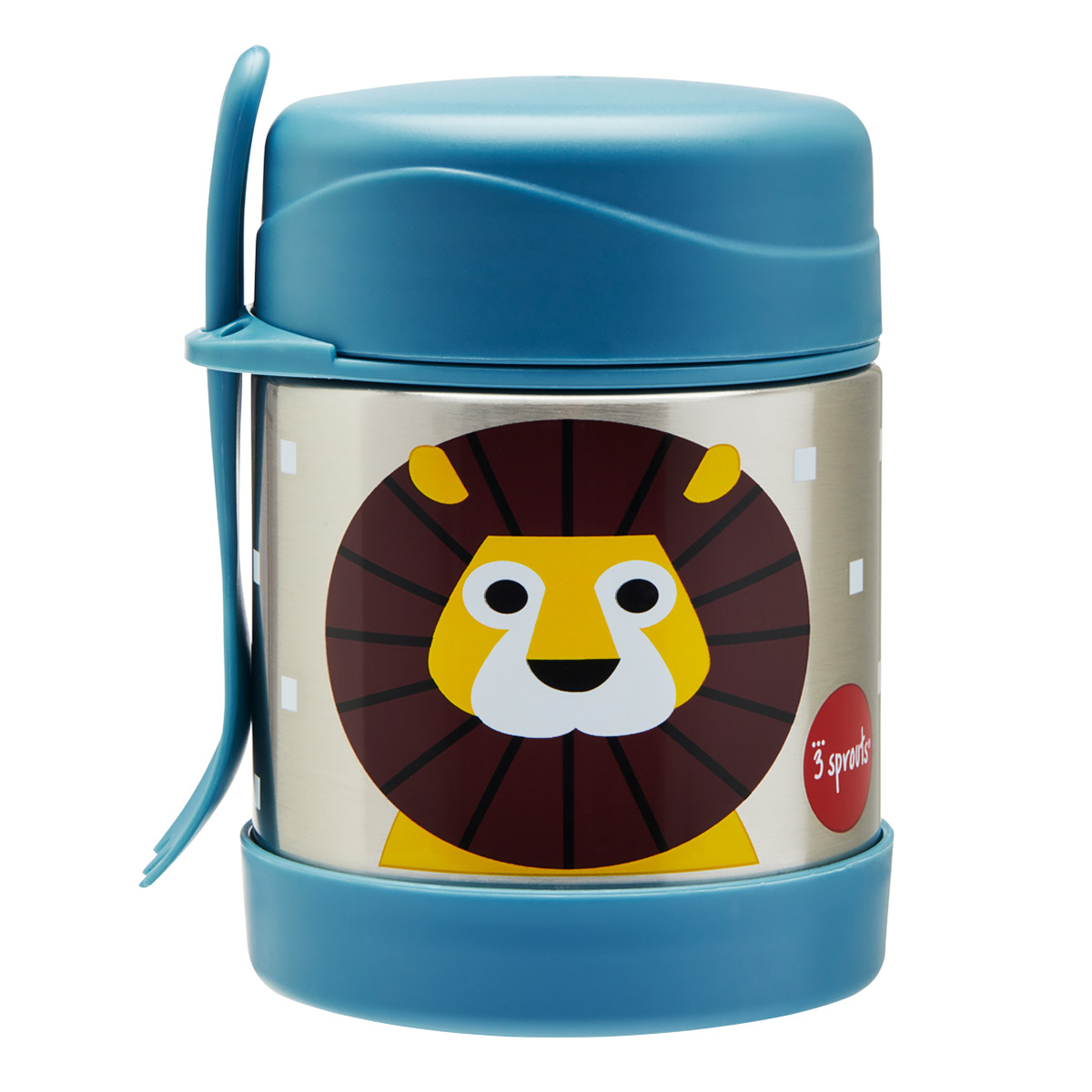 3 Sprouts Lion Insulated Food Jar