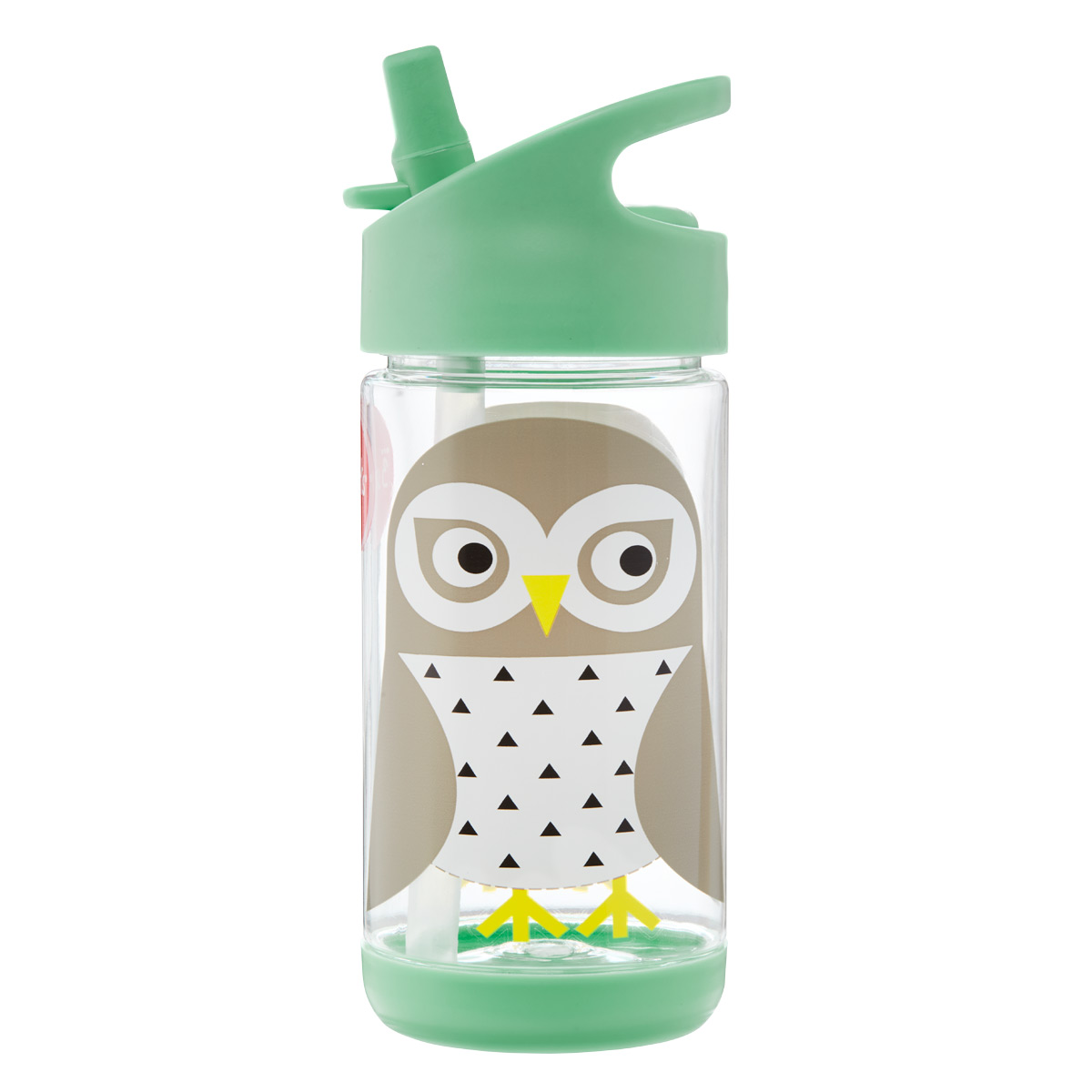 3 Sprouts Snow Owl Water Bottle