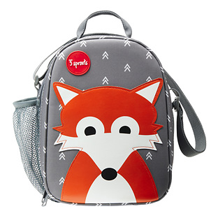 3 Sprouts Fox Lunch Box