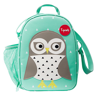 3 Sprouts Snow Owl Lunch Box