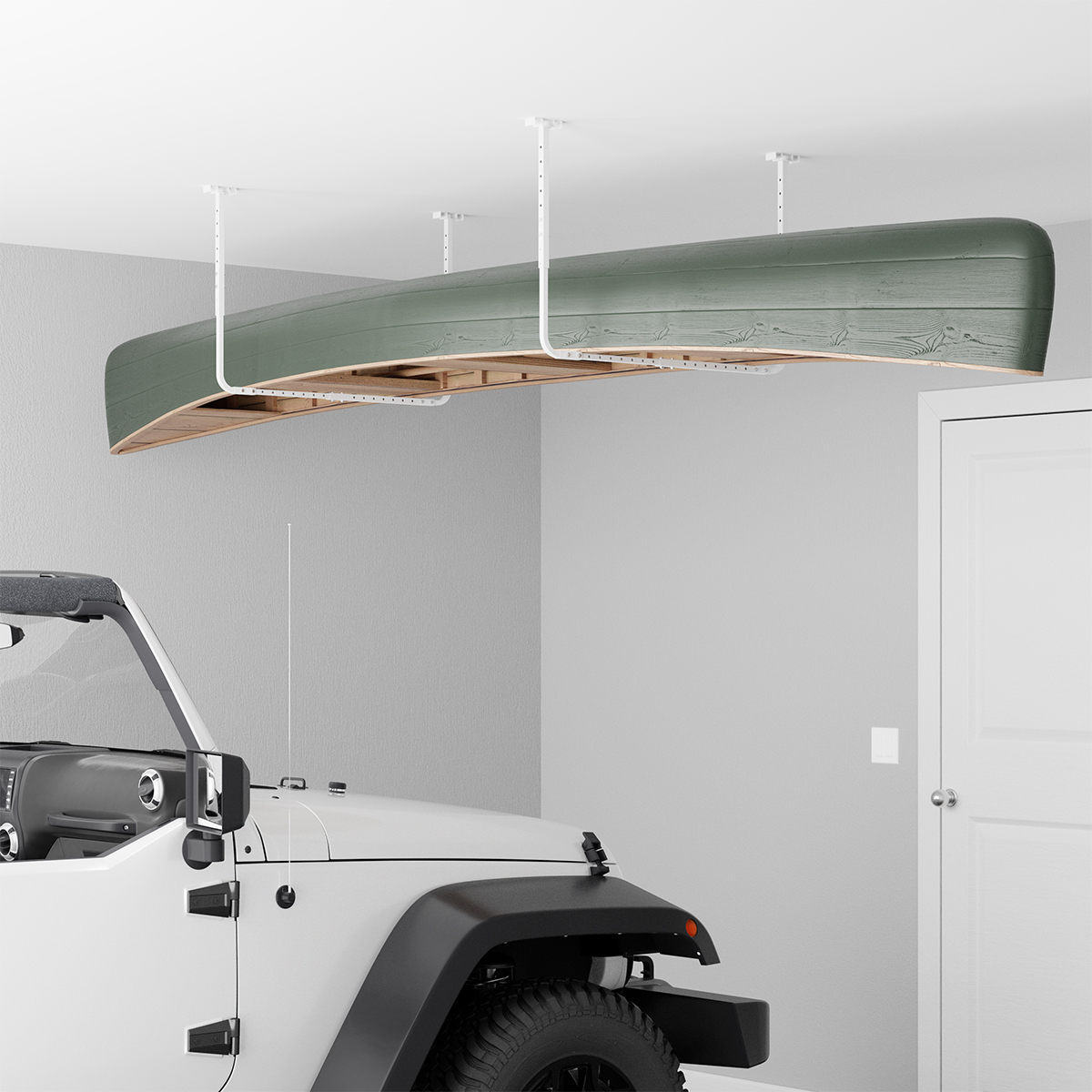 Adjustable Storage Ceiling Rack