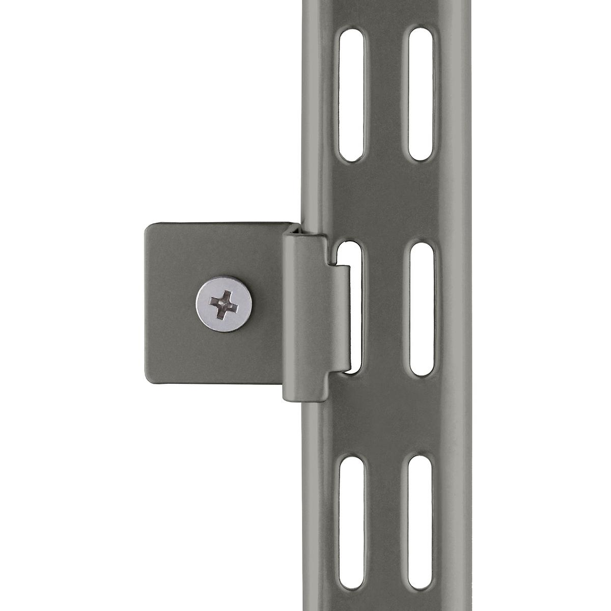 Graphite Elfa Hang Standard Wall Clips