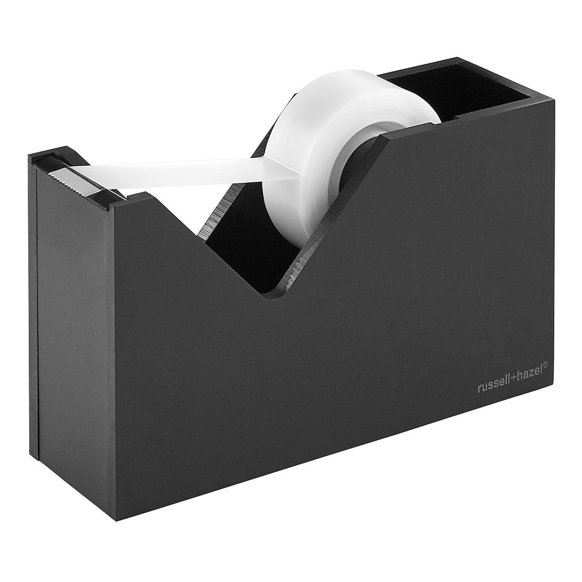 Russell Hazel Acrylic Matte Black Tape Dispenser