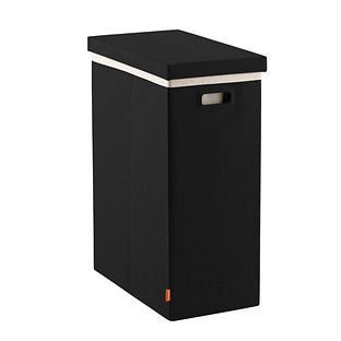 Black Poppin Laundry Hamper with Lid
