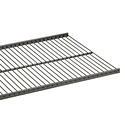 Graphite Elfa Ventilated Wire Shelves