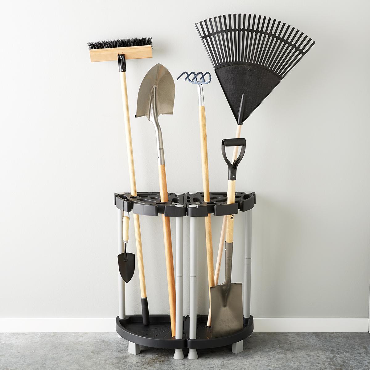 Corner Double Tool Rack