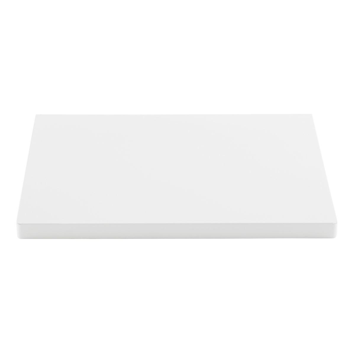White Elfa Utility Work Surface