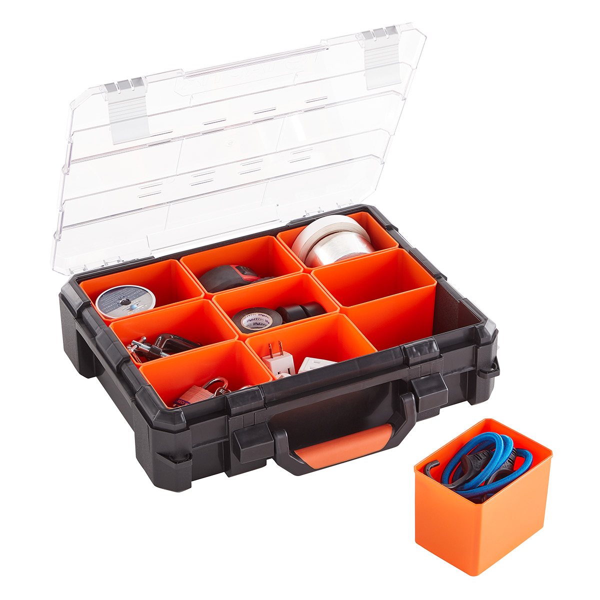 Heavy-Duty Organizer with Removable Bins