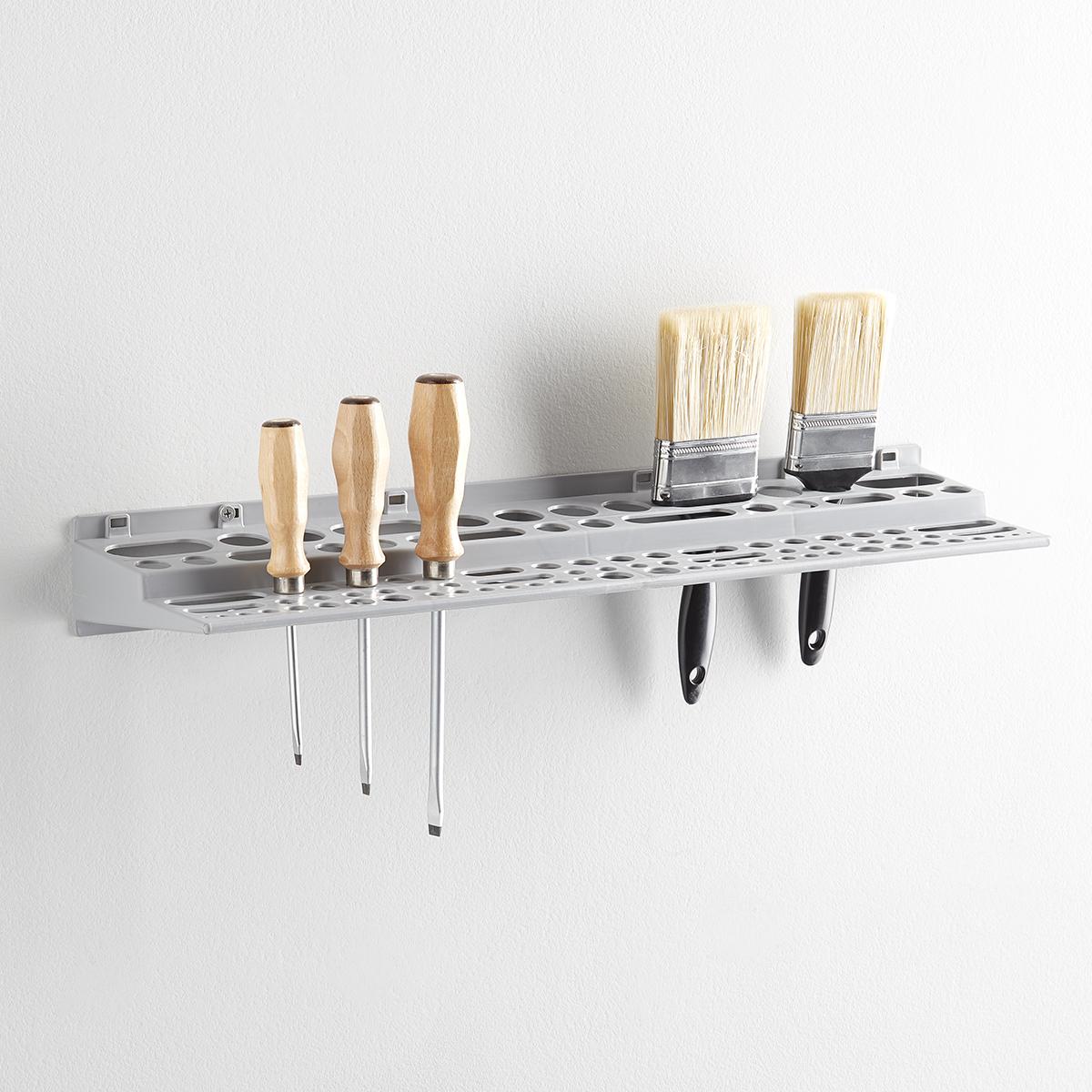 Grey Tool Rack