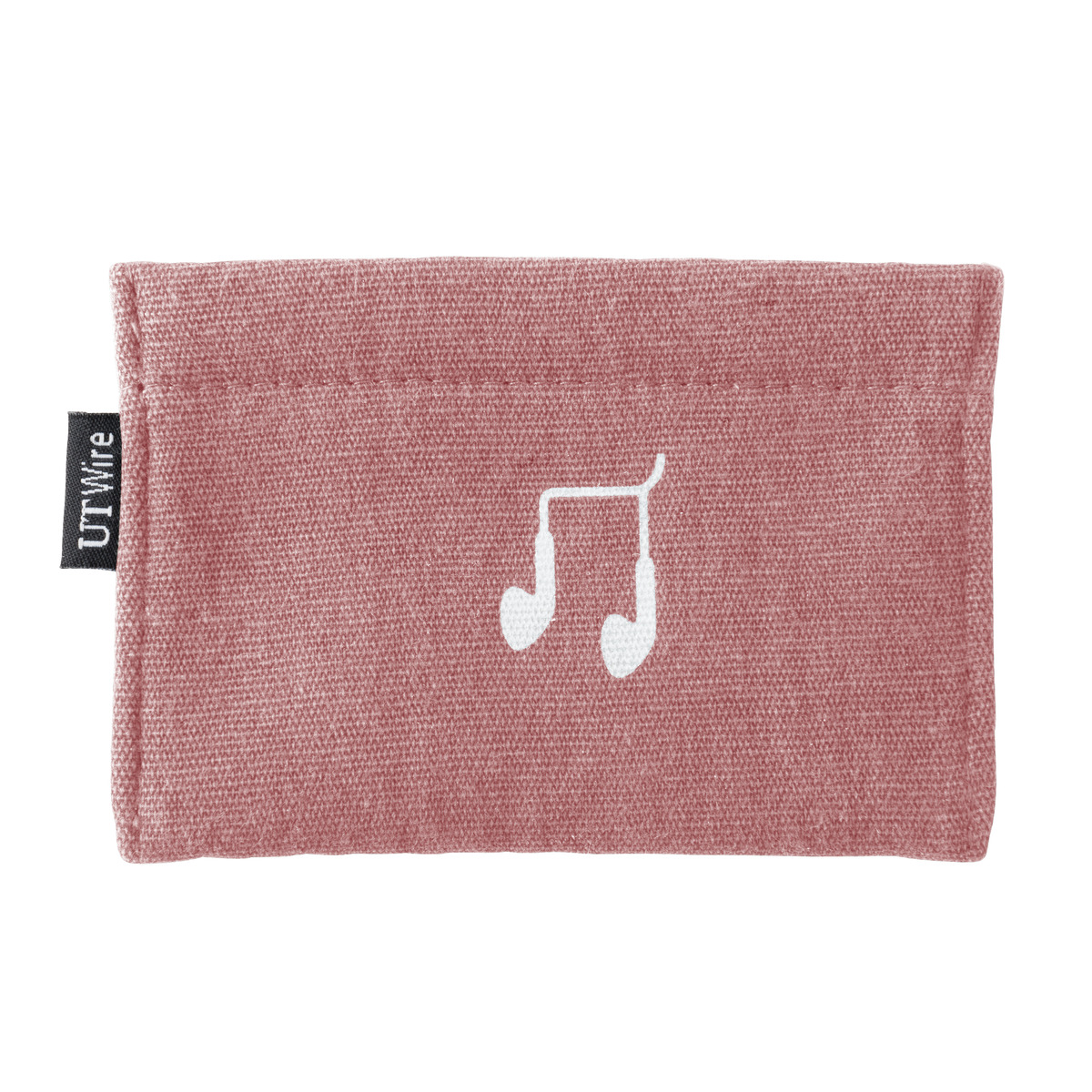 Rose Pink Earphone Accessory Pouch