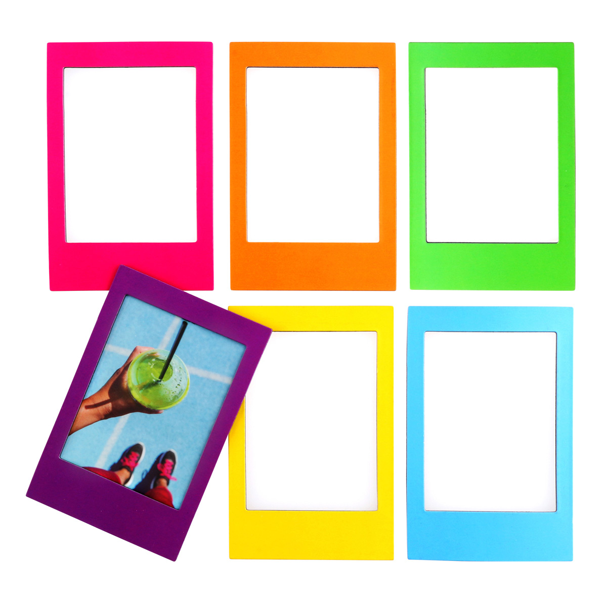 Instax Magnetic Rainbow Frames