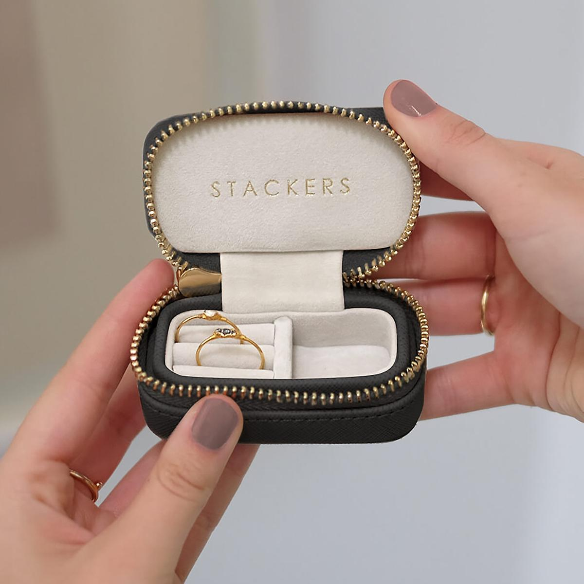 Stackers Black Mini Travel Case