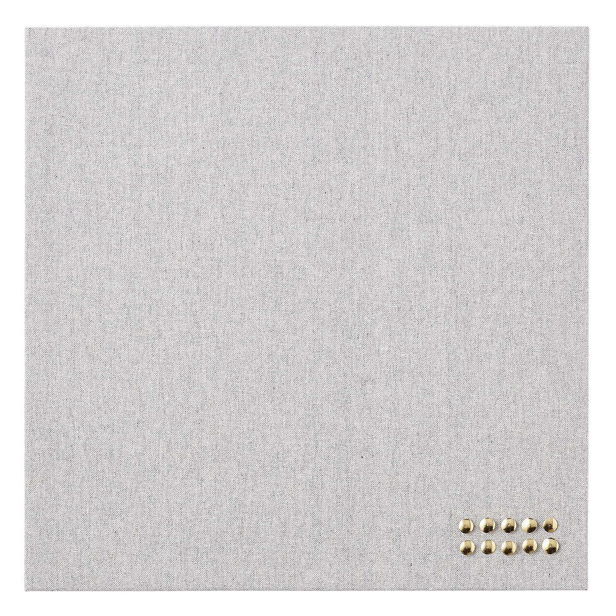 U-Brands Linen Square Linen Bulletin Board