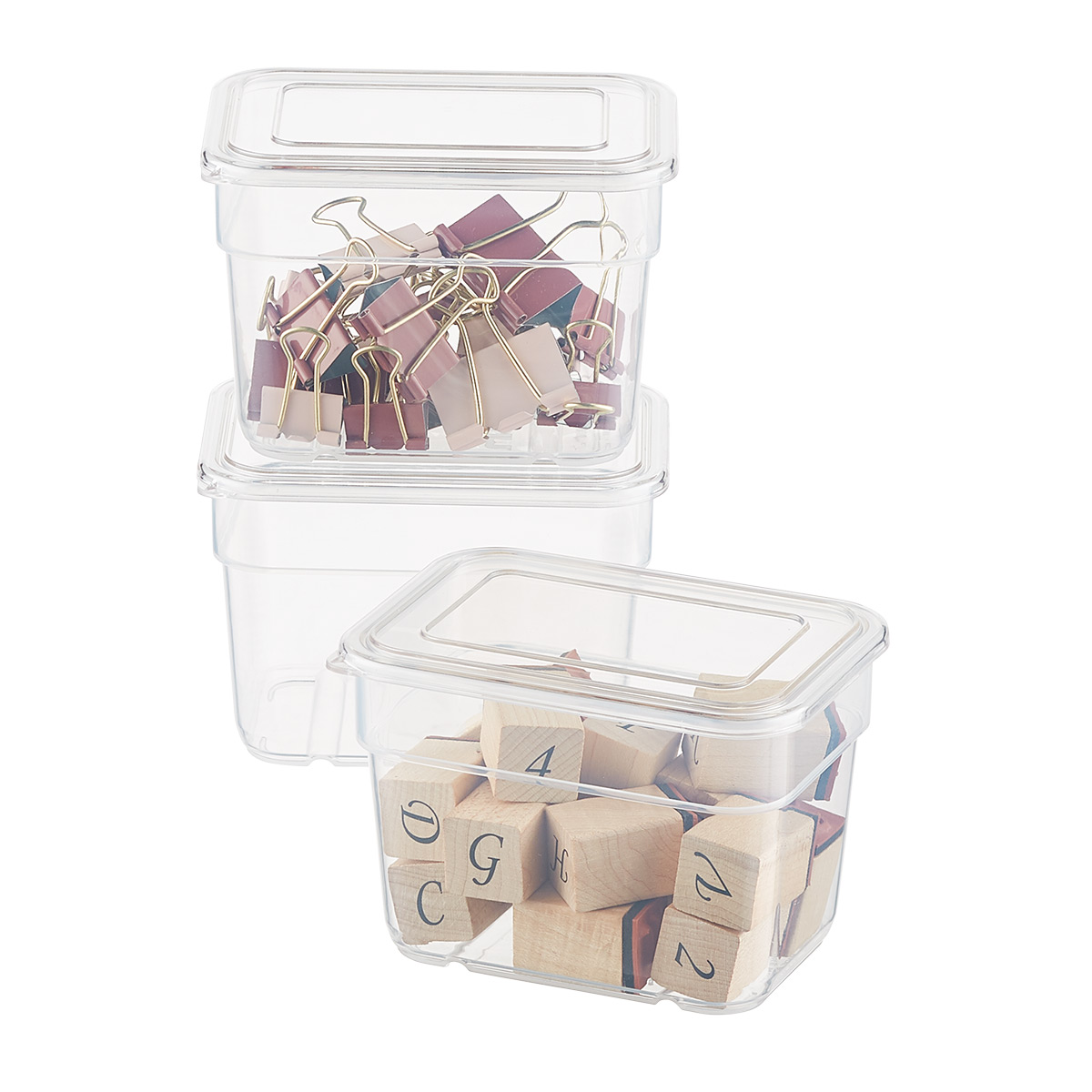 Small ArtBin Storage Bins with Lids