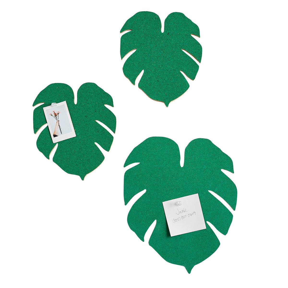 Monstera Leaf Cork Boards