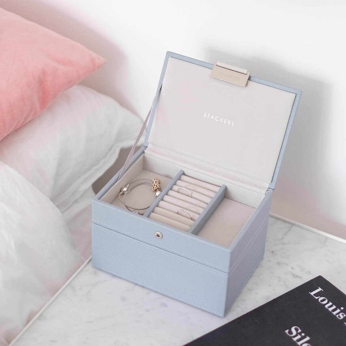Jewelry Boxes Jewelry Organizers Jewelry Holders The Container Store