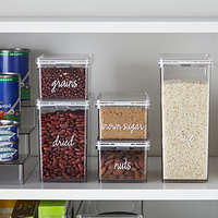 The Home Edit Pantry Canisters