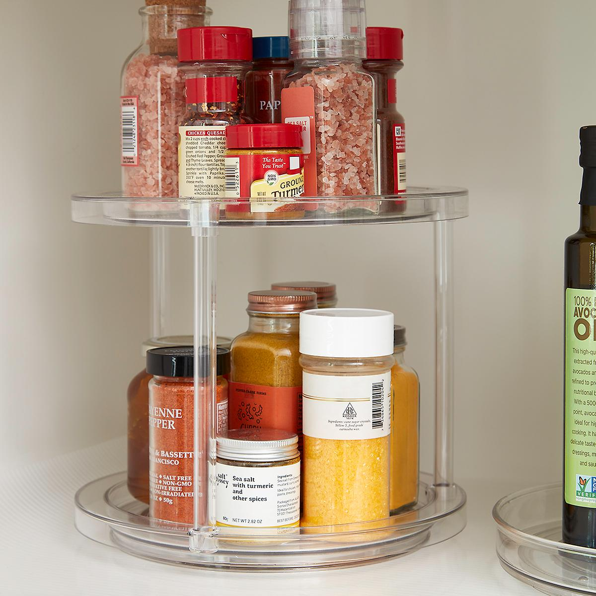 The Home Edit 2-Tier Lazy Susan