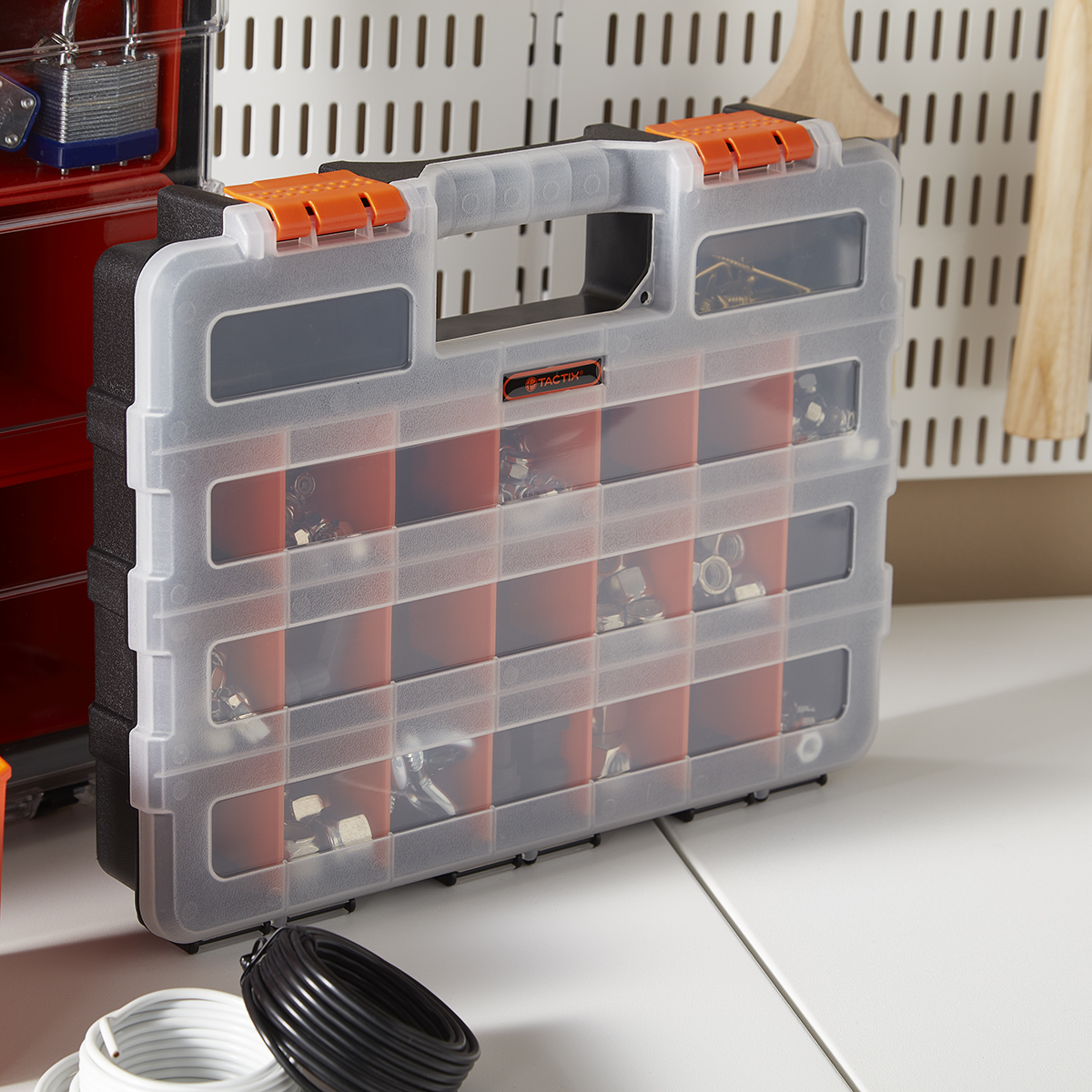 Small Parts Organizer with Removable Dividers