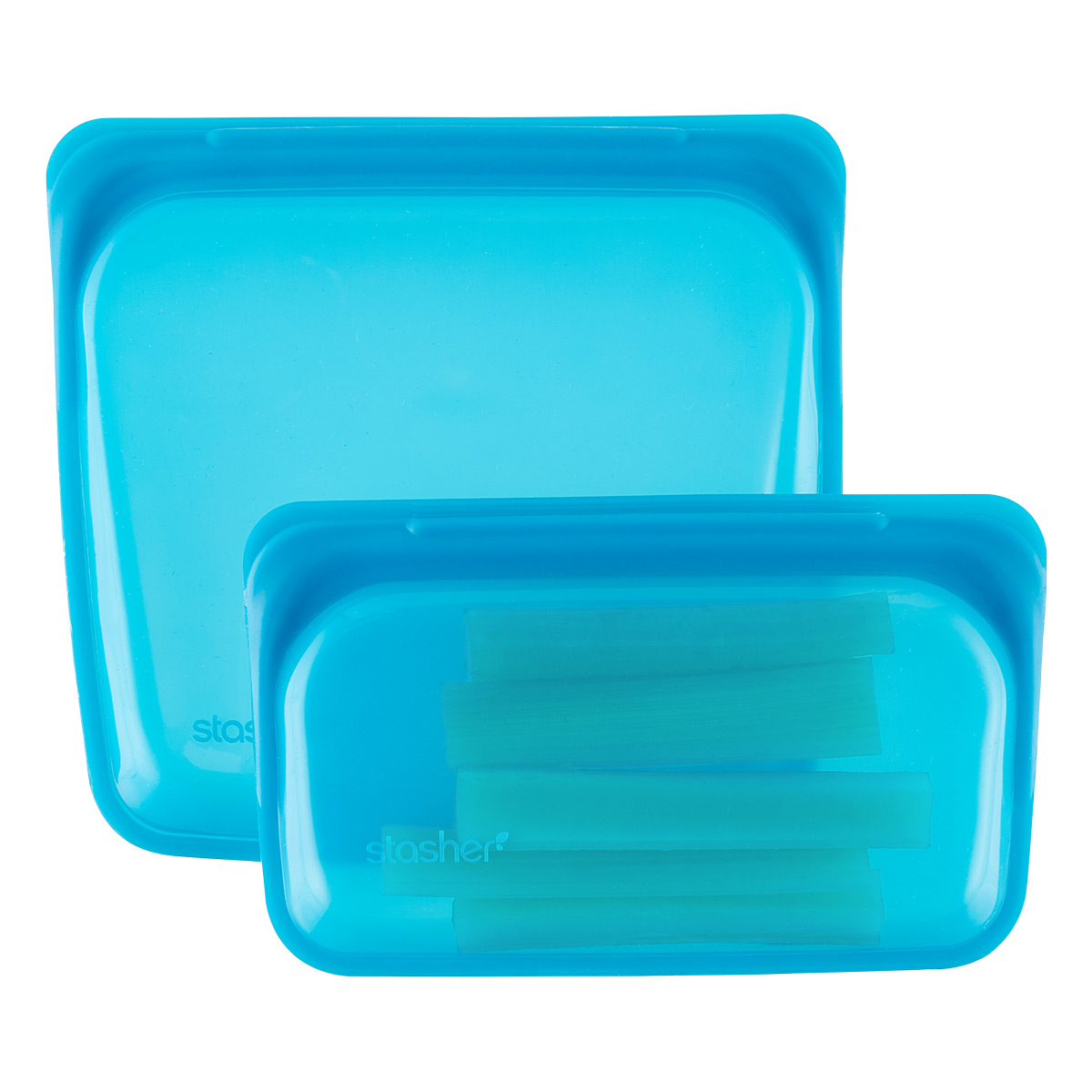 Stasher Blueberry Silicone Reusable Storage Bag