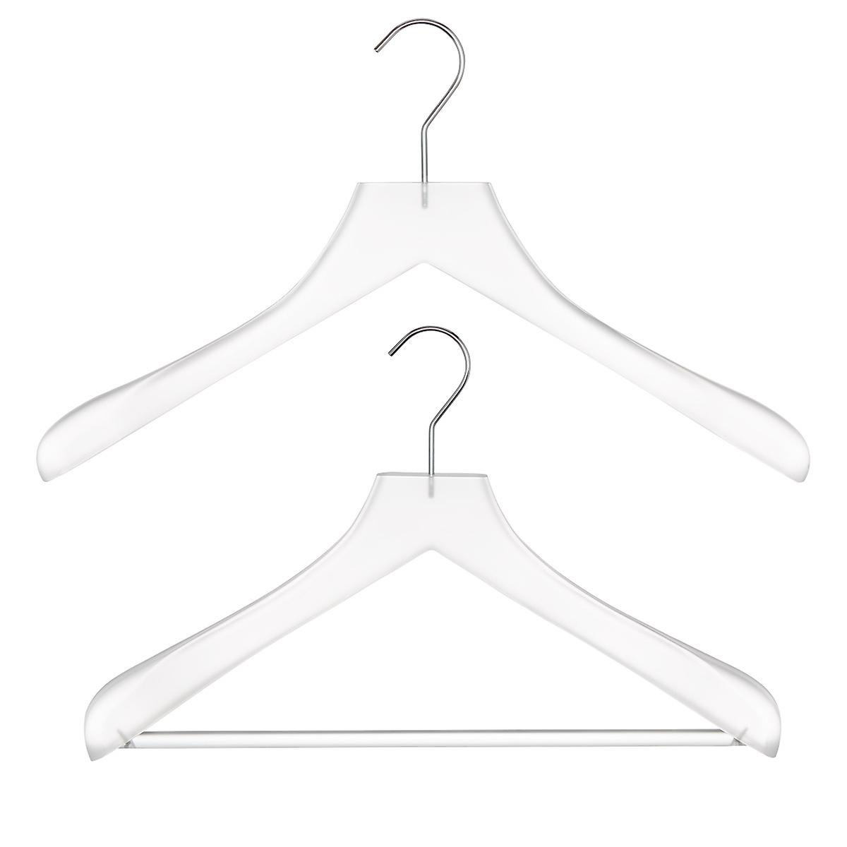 Frosted Acrylic Superior Coat Hangers