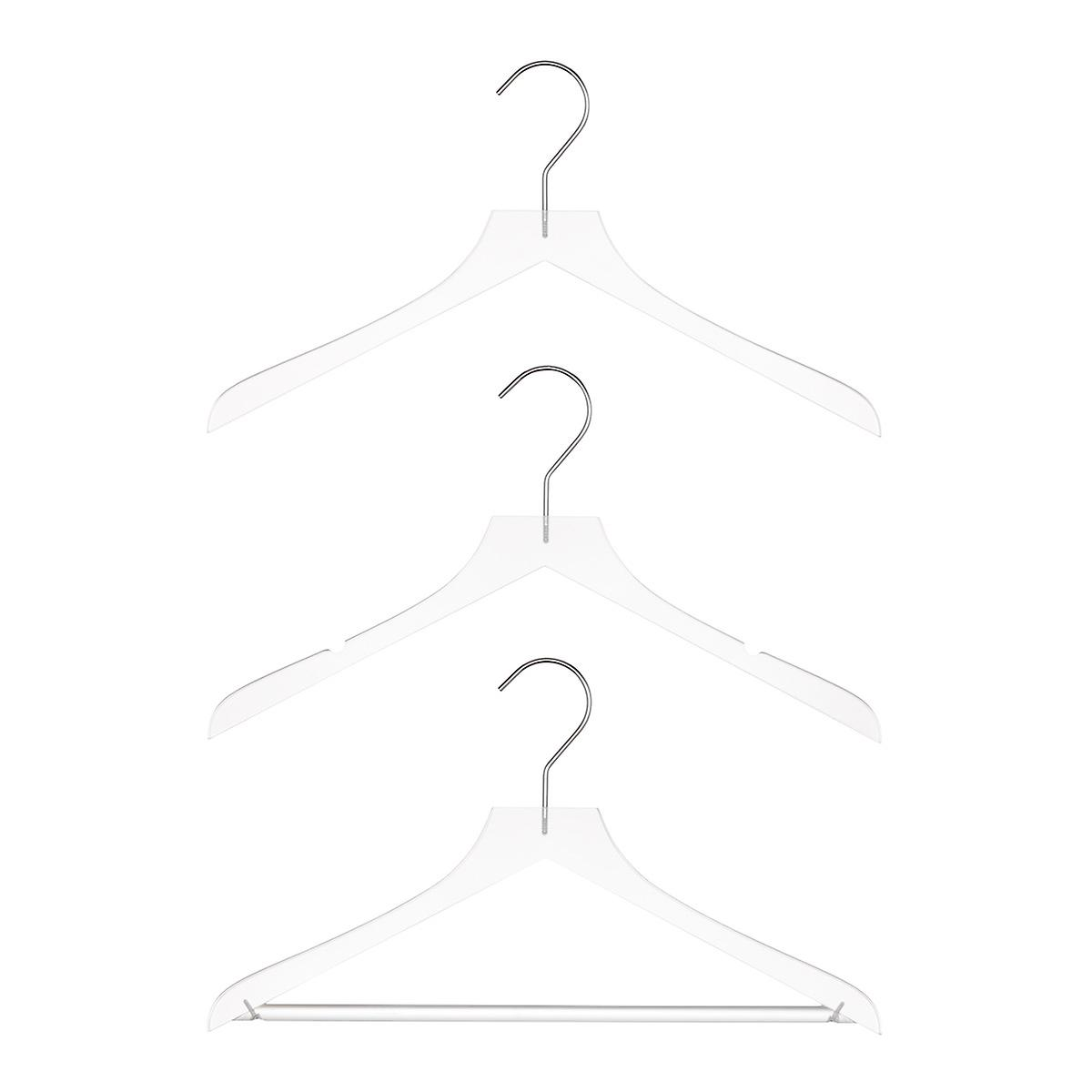 Petite Frosted Acrylic Hangers