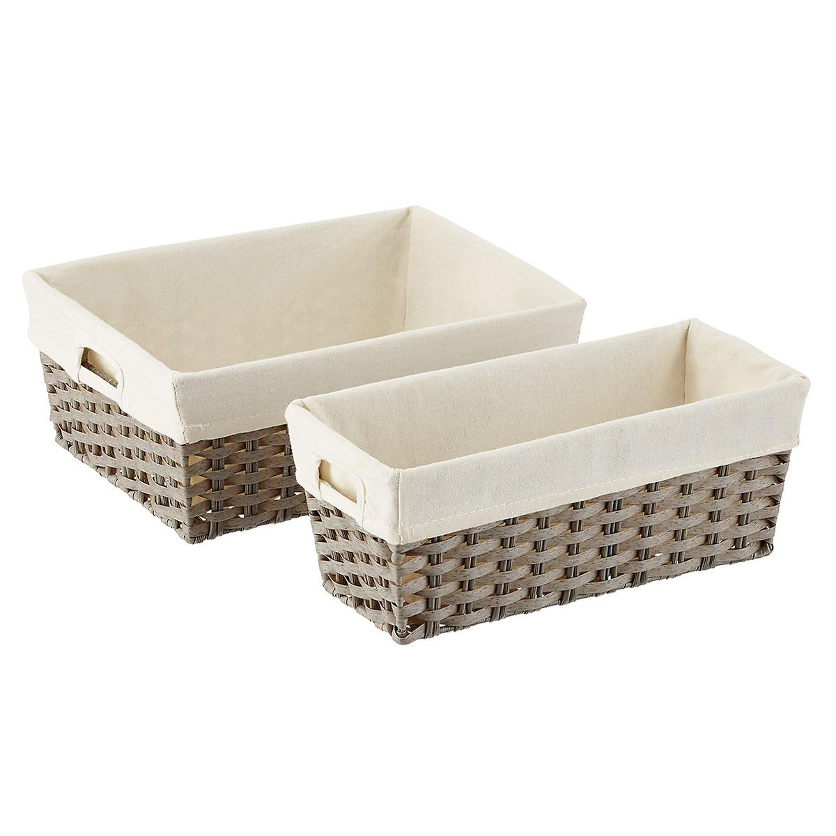 Rectangular Montauk Kitchen Bins