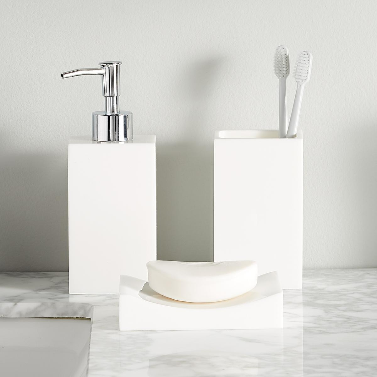 White Bathroom Sets