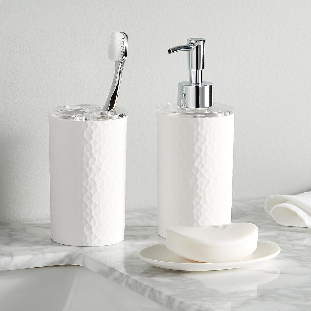 White Alpine Bathroom Set