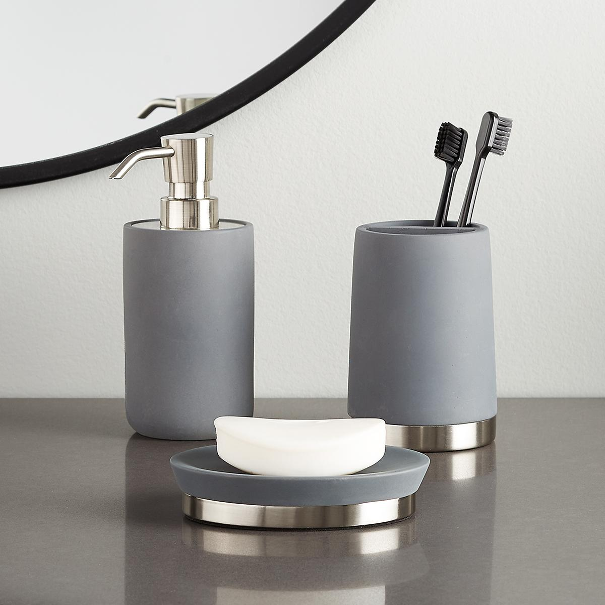 Concrete Countertop Bathroom Set