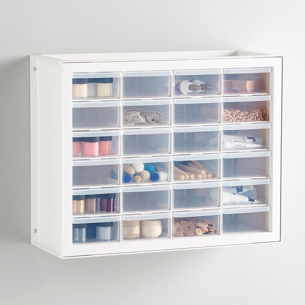 24-Drawer Craft Cabinet