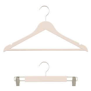 Blush Premium Rubberized Hangers