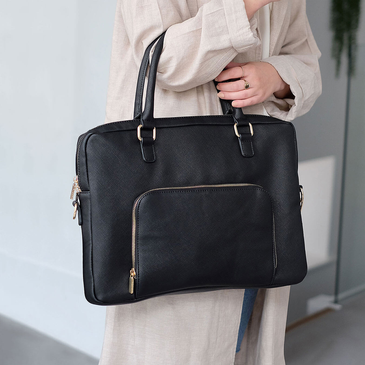 Stackers Black Ultimate Laptop Bag