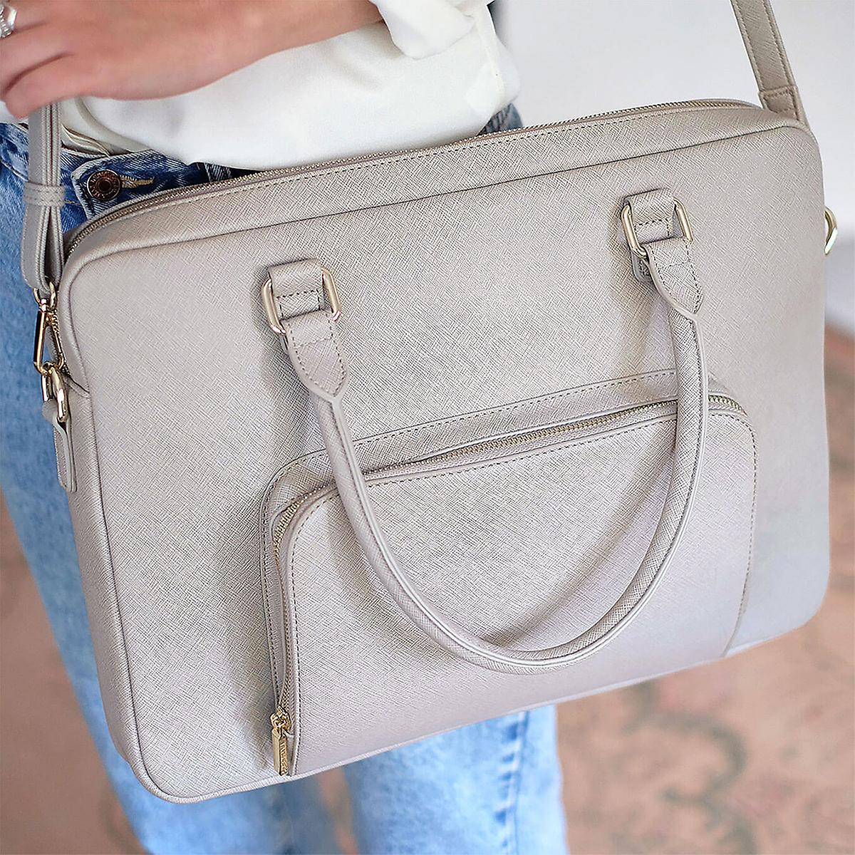 Stackers Taupe Ultimate Laptop Bag