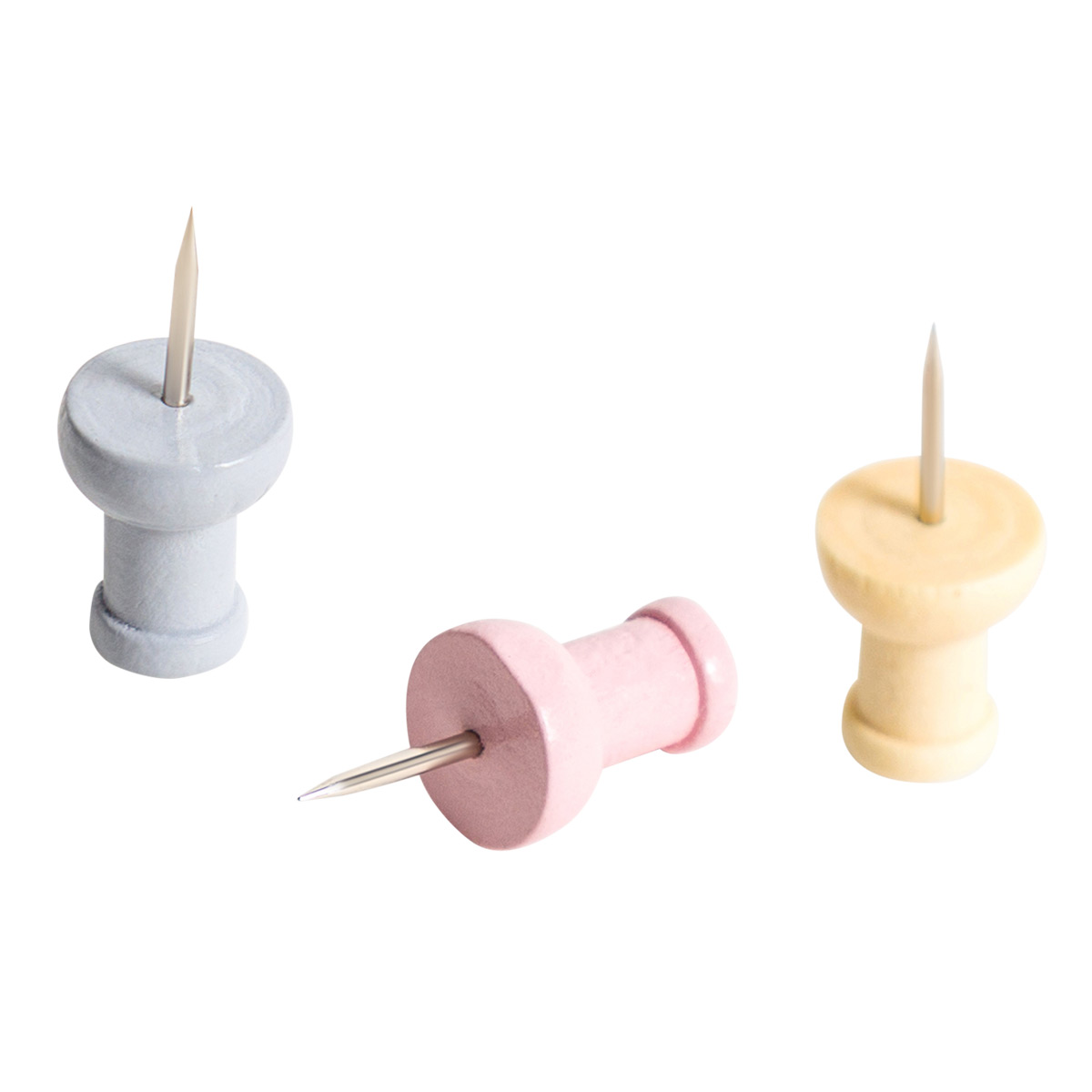 U-Brands Muted Push Pins