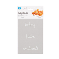 The Home Edit Fridge Labels Pkg/18
