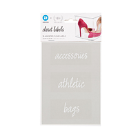 The Home Edit Closet Labels Pkg/18