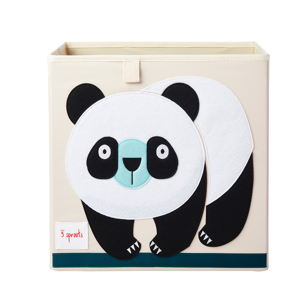 3 Sprouts Panda Toy Storage Cube