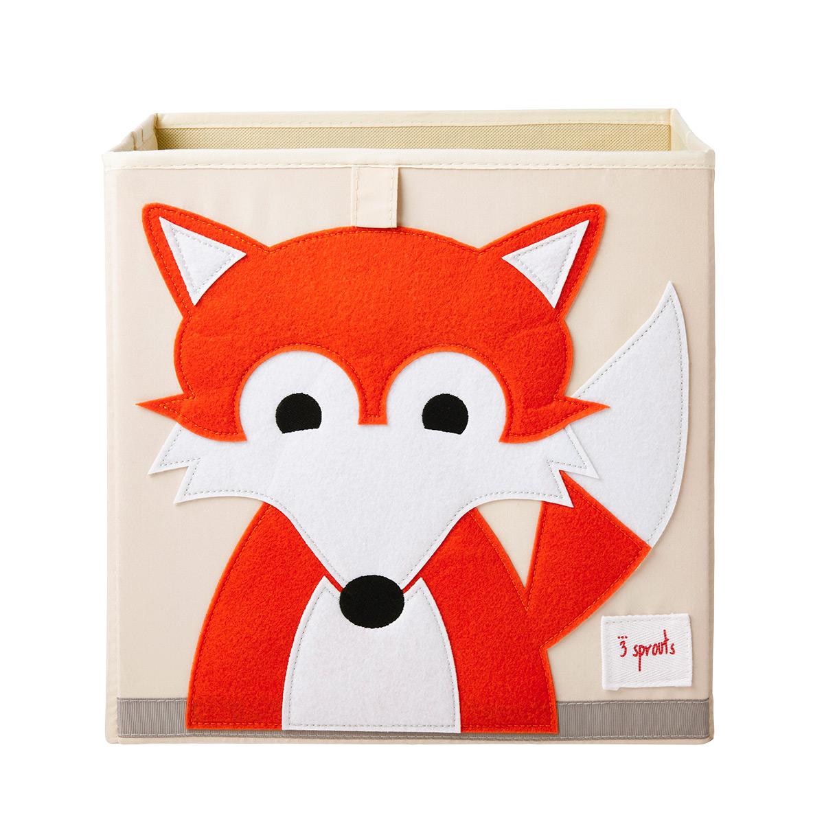 3 Sprouts Fox Toy Storage Cube