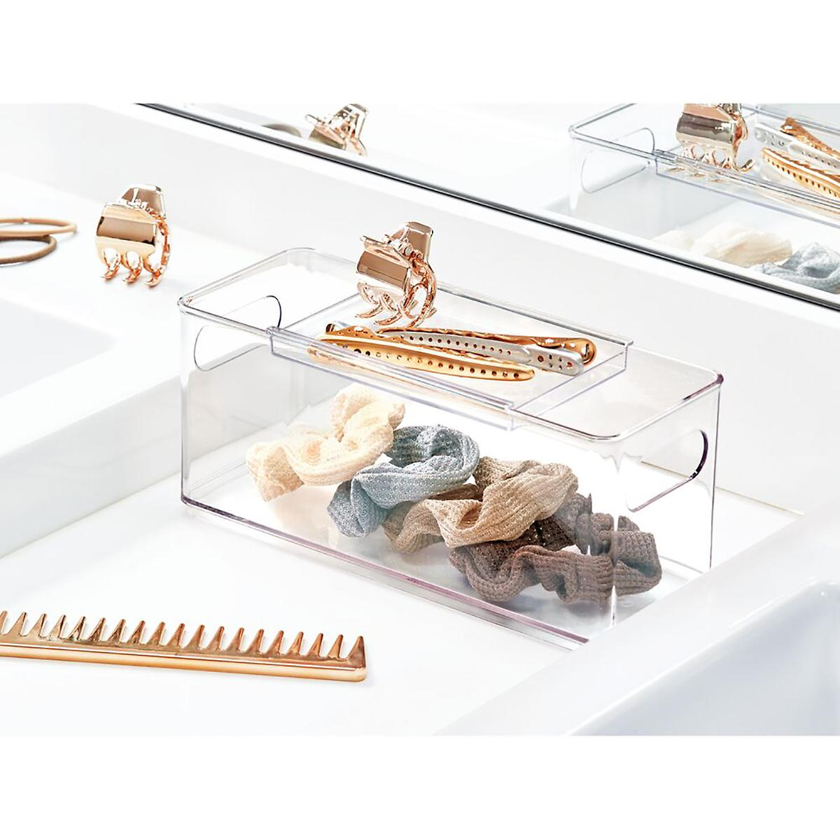 The Home Edit Hair Accessory Bin with Sliding Tray