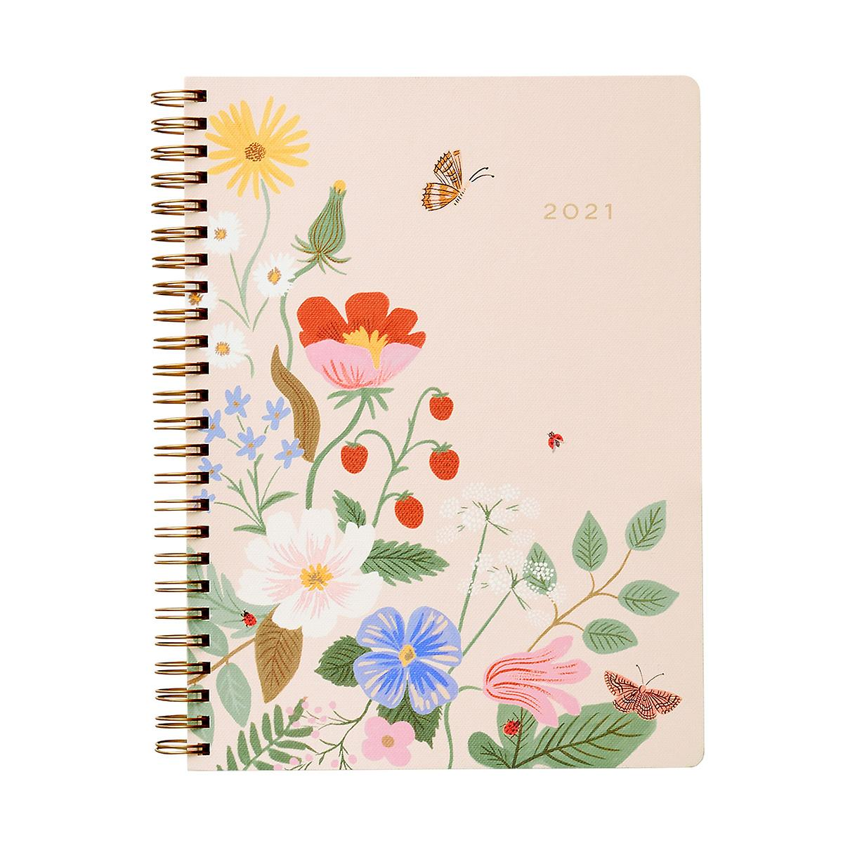Rifle Paper Co. 2021 Spiral Planner