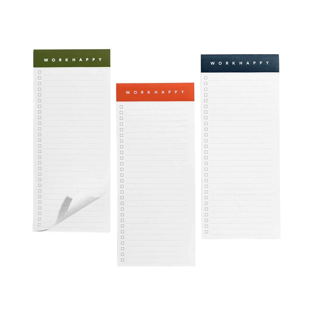 Poppin Work Happy Magnetic List Pads