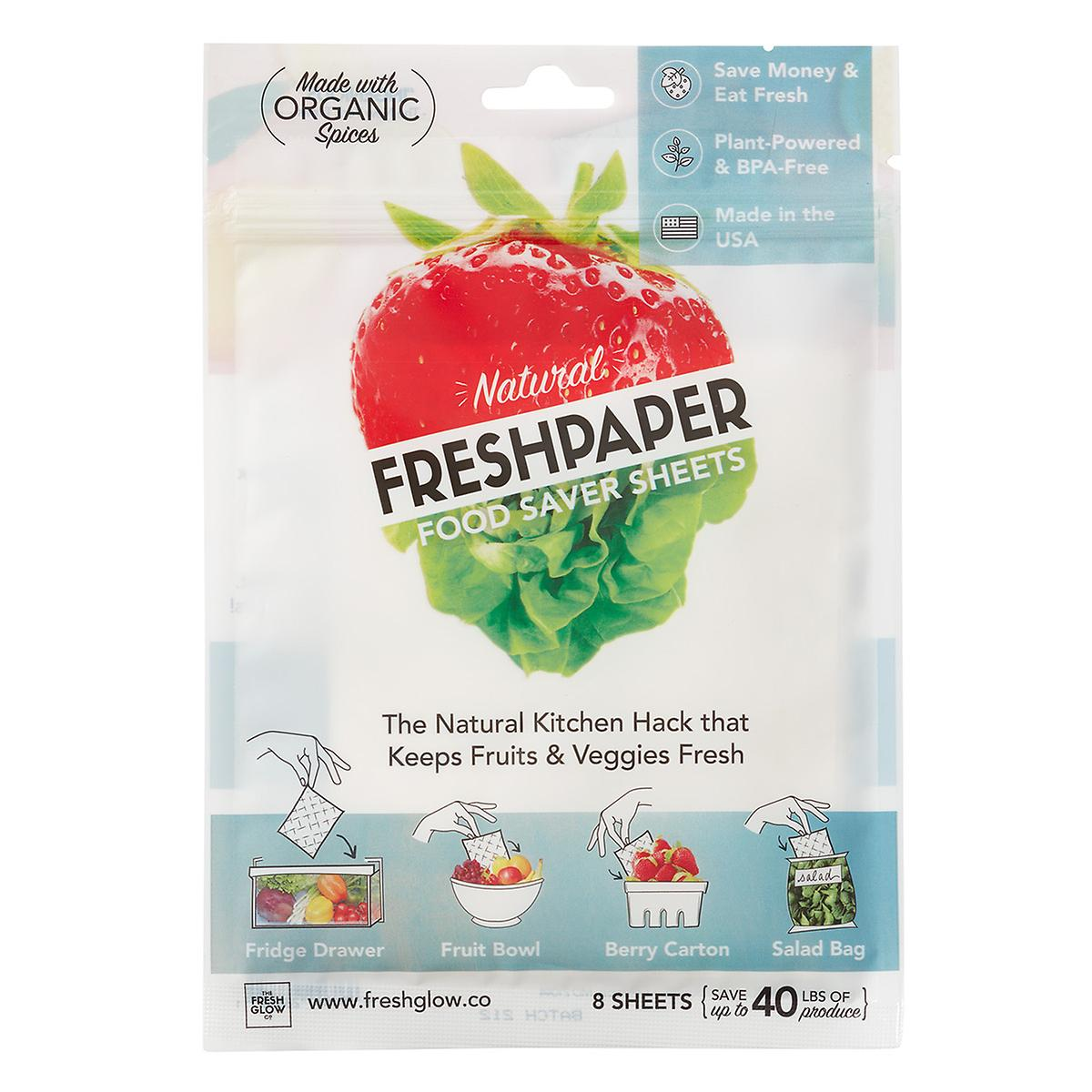 FreshPaper Food Paper Sheets Pkg/8