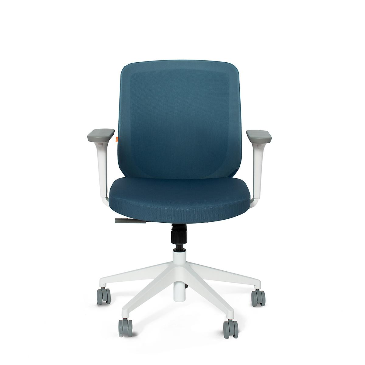 Poppin Slate Blue Max Task Chair