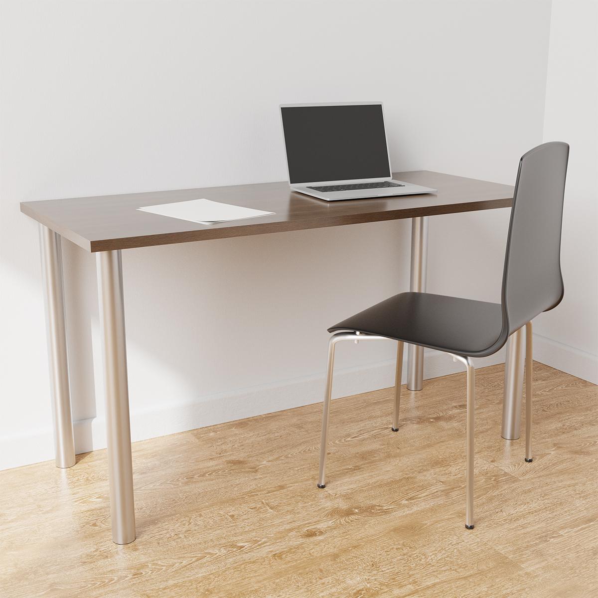 Platinum & Driftwood Elfa Desk