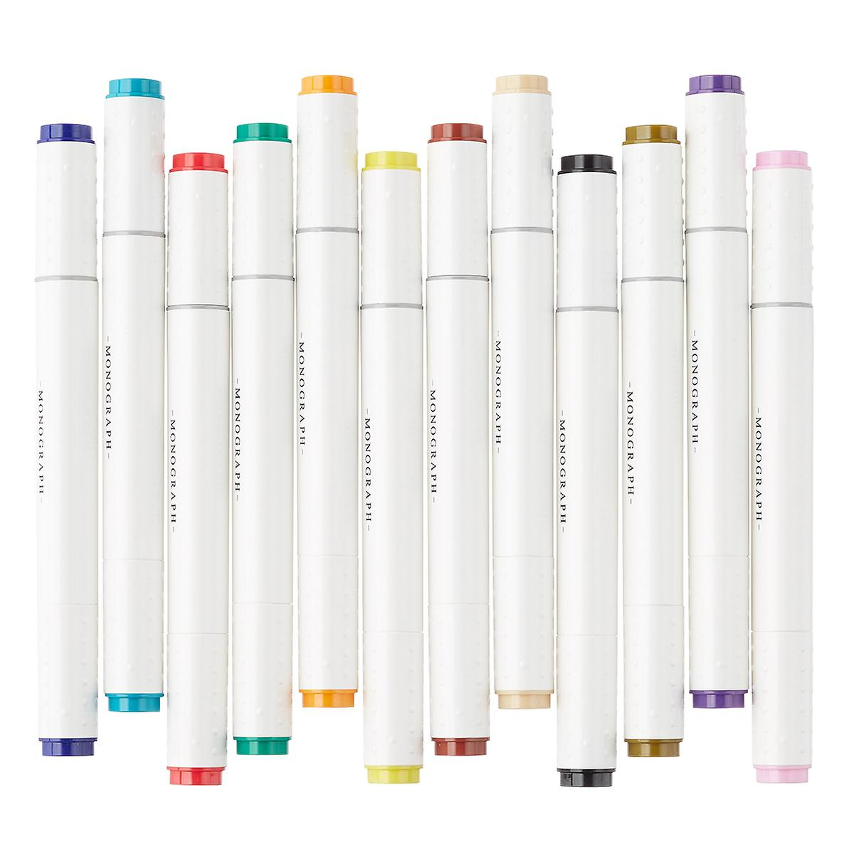 Monograph Dual Tip Markers In Case