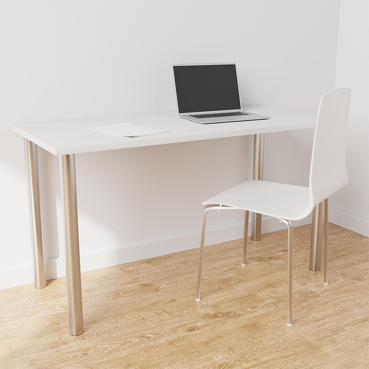 Elfa Platinum & White Desk