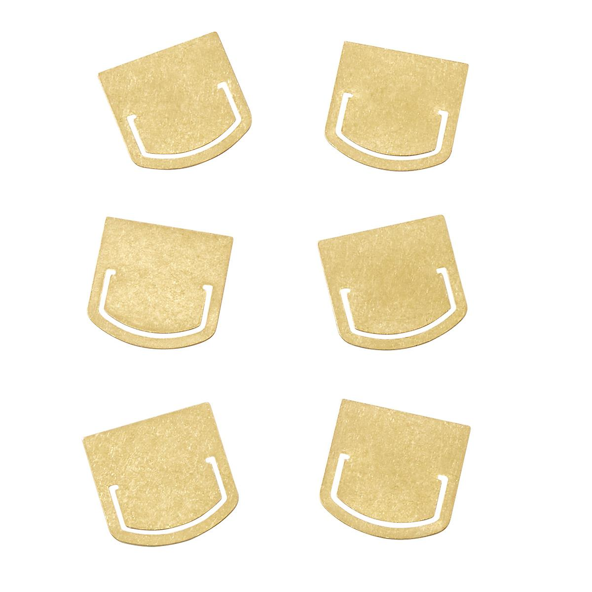 Monograph Brass Clips