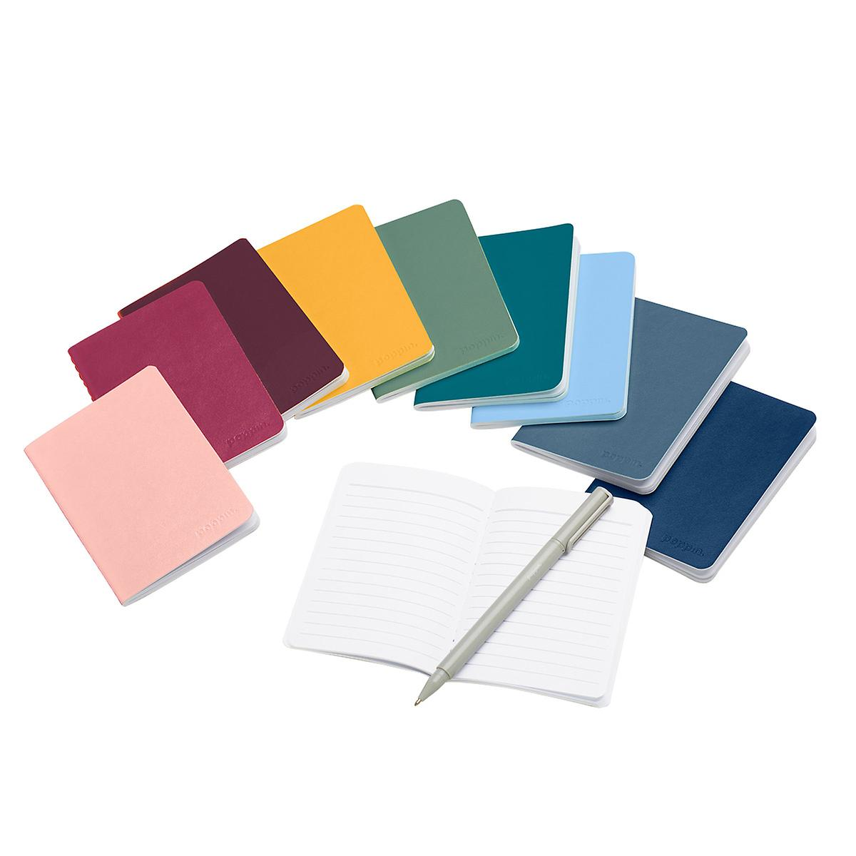 Poppin Rainbow Mini Medley of Soft Cover Notebooks